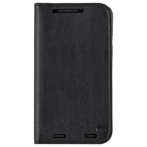 official photos 1b60c 2d895 Case-Mate Motorola Droid Turbo 2 Black Wallet Folio Cases