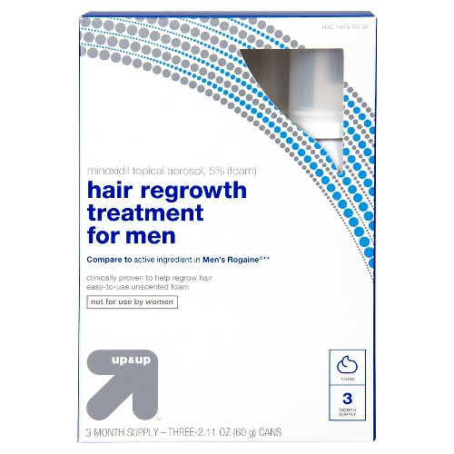Hair Regrowth Treatment for Men - 2.11oz - Up&Up