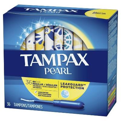 Tampons: Tampax Pearl