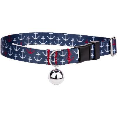Country Brook Petz® Anchors Away Cat Collar