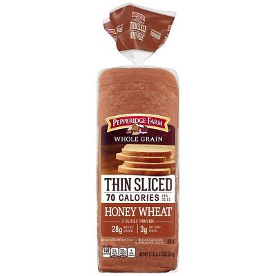 Pepperidge Farm Whole Grain Honey Wheat Thin Sliced Bread - 22oz