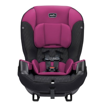 Evenflo Sonus Convertible Car Seat - Berry Beet