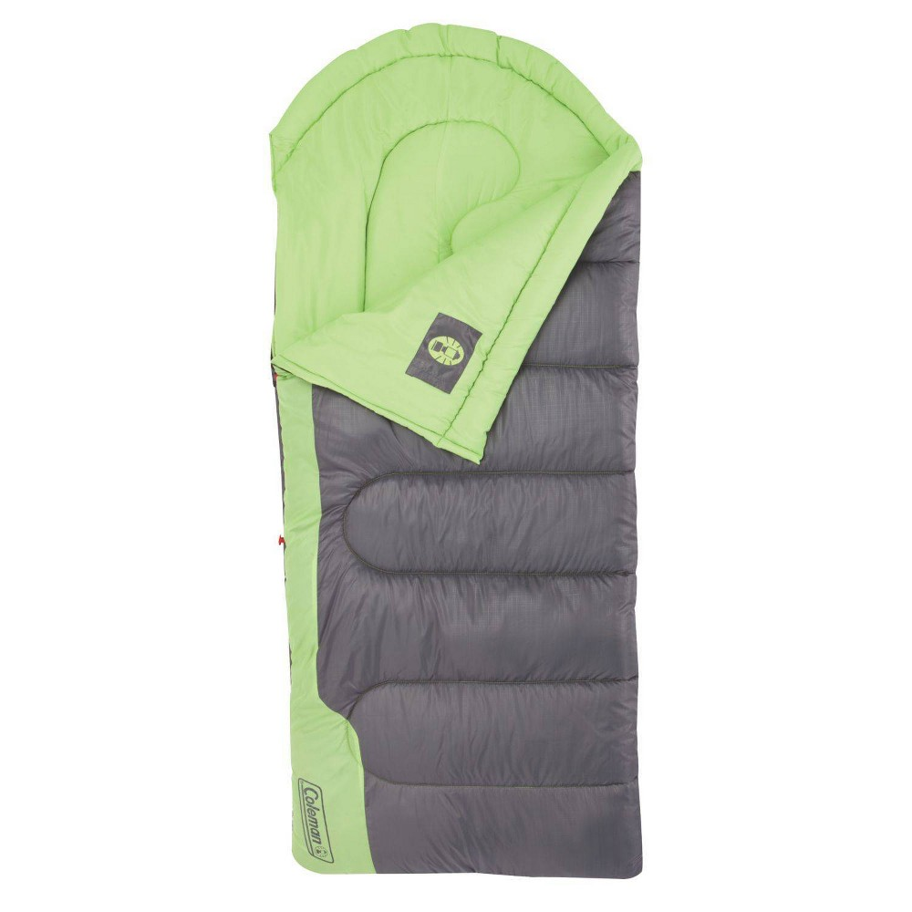 Coleman Raymer Adult 40 Degree Sleeping Bag - Green/Gray, Adult Unisex, Green Gray