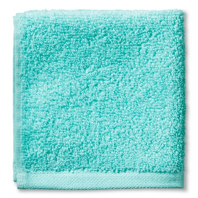 Fast Dry Washcloth Sun-bleached Turquoise - Room Essentials™