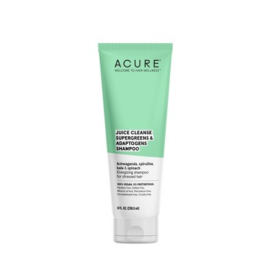 Acure Juice Cleanse Supergreens & Adaptogens Shampoo - 8 fl oz