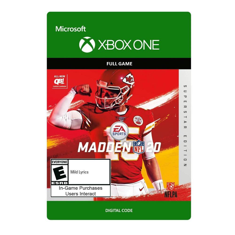 Madden NFL 20: Superstar Edition - Xbox One (Digital)