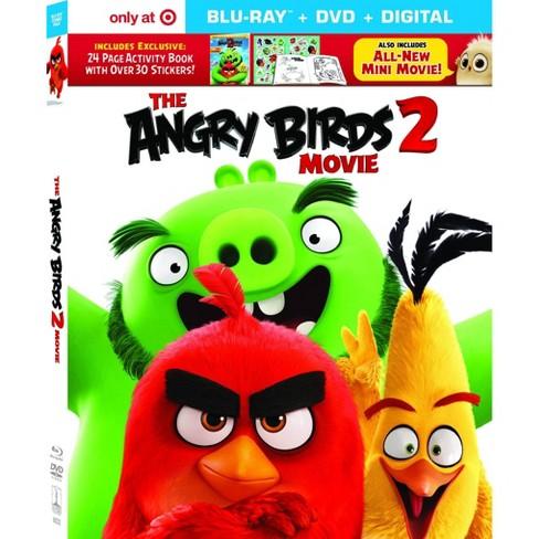 Angry Birds Movie 2 Target Exclusive Blu Ray Dvd Digital