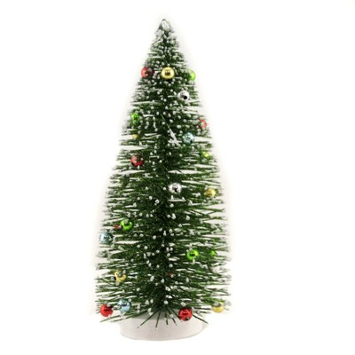 """Department 56 Accessory 9.25"""" Holiday Town Tree Christmas Village  -  Decorative Figurines"""