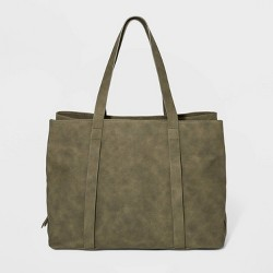 Triple Compartment Tote Handbag - Universal Thread™