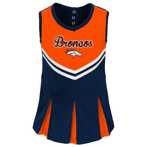 timeless design ace81 d2848 Denver Broncos Infant-Toddler In the Spirit Cheer Set 4T