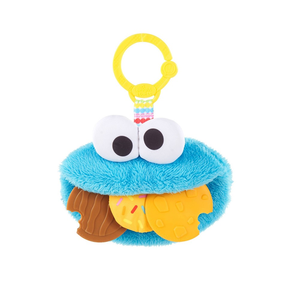 Image of Bright Starts Sesame Street Cookie Mania Teether On-the-Go Attachment