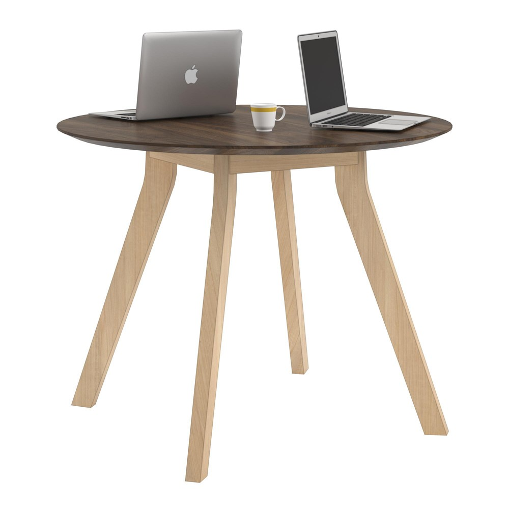 Image of Meeting Table Walnut - Ameriwood Home