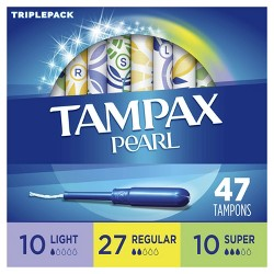 Tampax Pearl Multipack Tampons with LeakGuard Protection