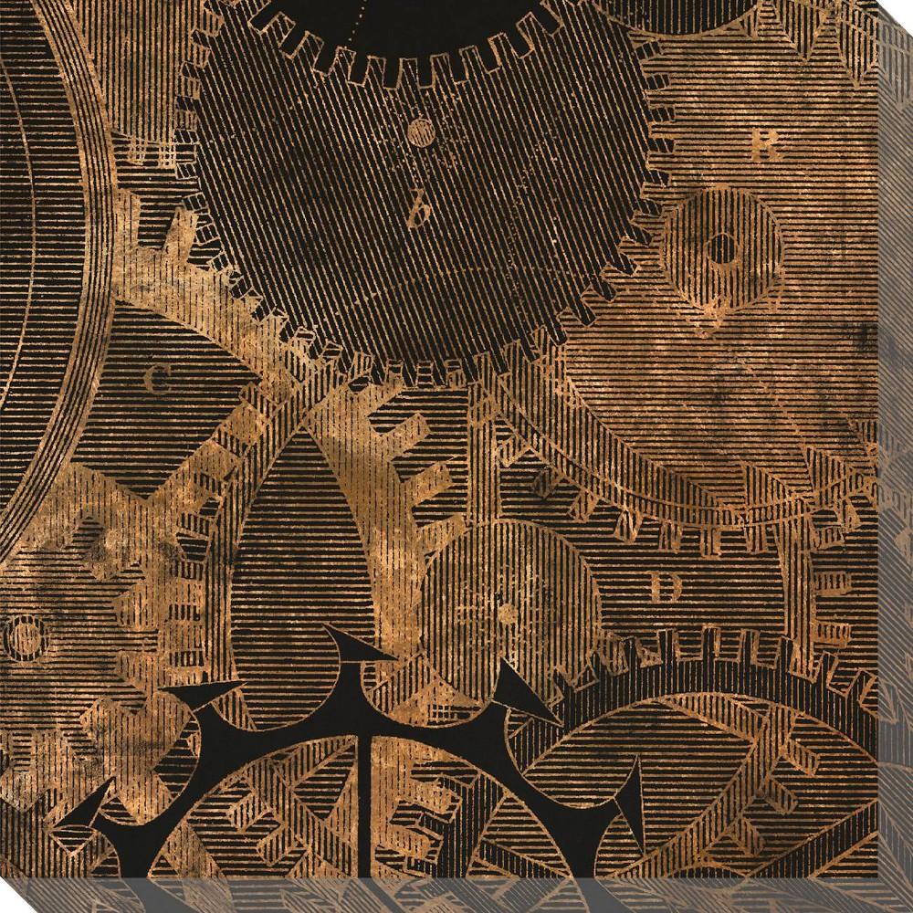 Image of Inner Workings 2 Unframed Wall Canvas Art - (24X24)