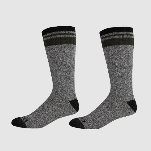 Dickies Men's Artic Cotton Thermal Boot 2pk Crew Socks - 6-12 - image 1 of 2
