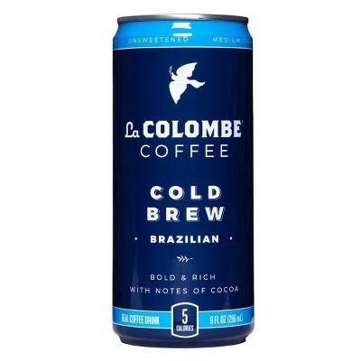 La Colombe Brazilian Cold Brew Coffee - 9 fl oz Can