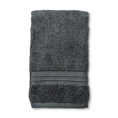 MicroCotton Spa Hand Towel Dark Gray - Fieldcrest®