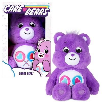 "Care Bears Share Bear 14"" Medium Plush Stuffed Animal"