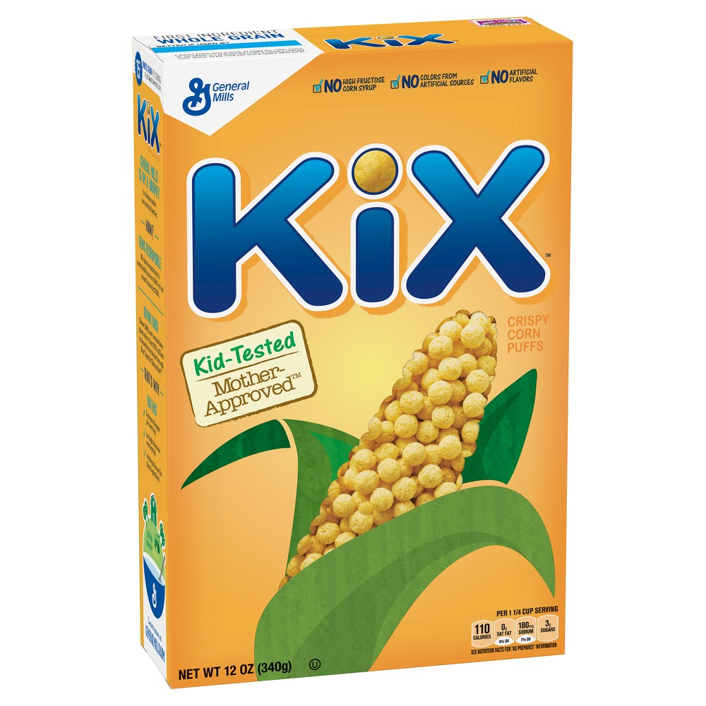 Kix Breakfast Cereal - 12oz - General Mills