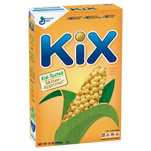 Kix Breakfast Cereal - 12oz - General Mills - image 1 of 4