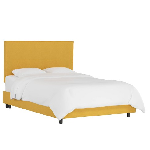 French Slipcover Bed Linen French Yellow - Skyline Furniture - image 1 of 4