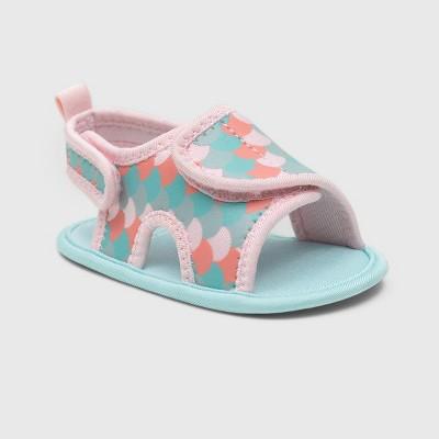 Ro+Me by Robeez Baby Girls' Mermaid Sandals - 6-12M