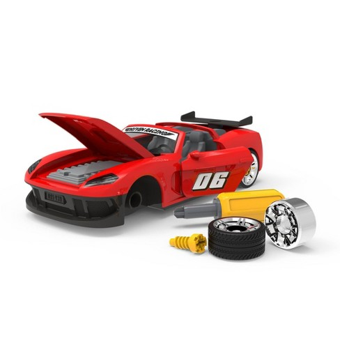 DRIVEN - Toy Take-Apart Sports Car with Accessories - 34pc - image 1 of 4