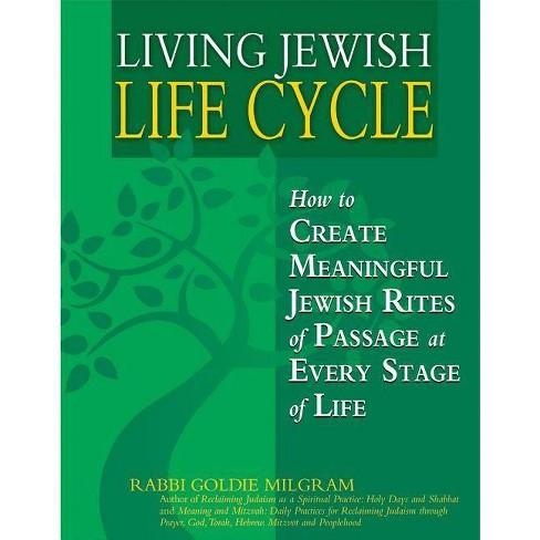 Living Jewish Life Cycle - by  Goldie Milgram (Paperback) - image 1 of 1
