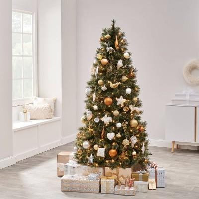 85pc Soft Metallics Christmas Ornament Kit - Wondershop™