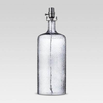 Artisan Glass Large Lamp Base Indigo Includes Energy Efficient Light Bulb - Threshold™
