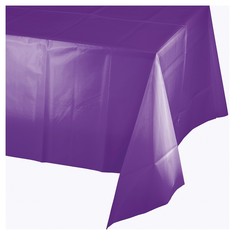 Amethyst Purple Disposable Tablecloth