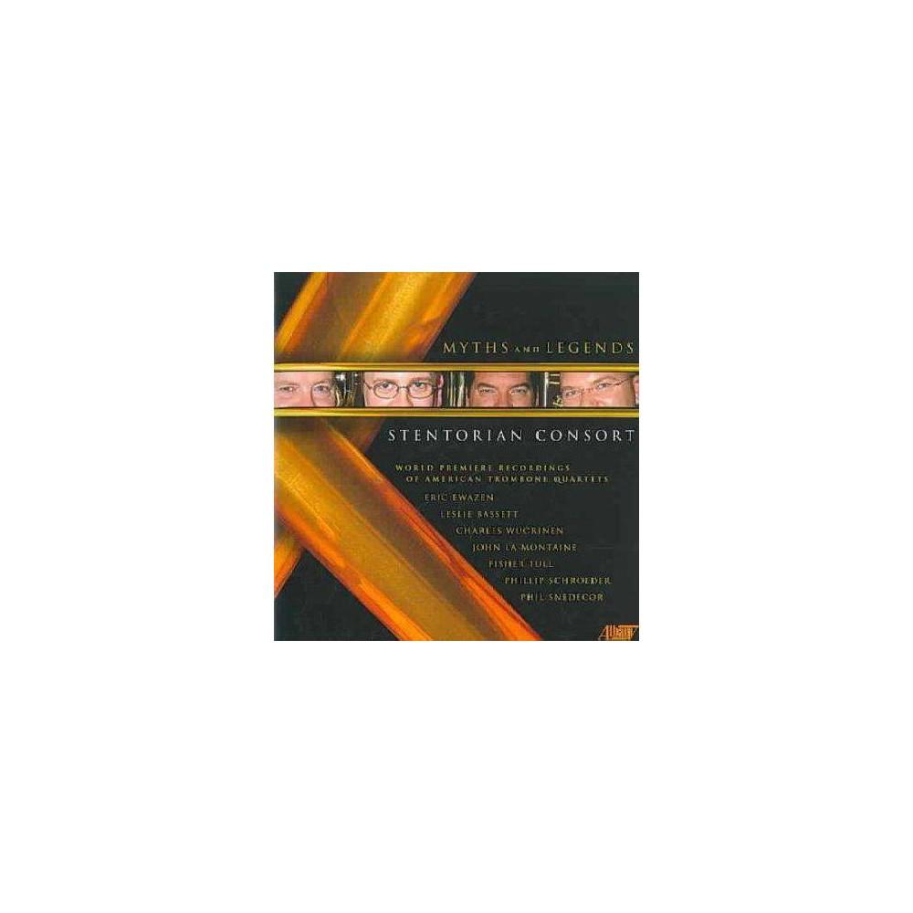 Ewazen/Bassett/Tull: Myths & Legends (CD) Ewazen/Bassett/Tull: Myths & Legends (CD)