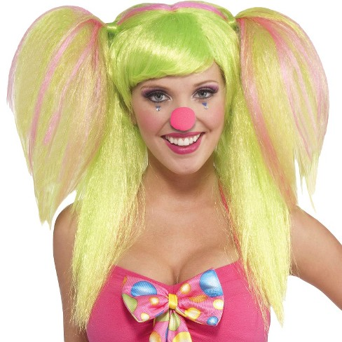 Women's Circus Sweetie Lollypop Lilly Wig Lime - image 1 of 1