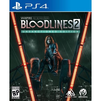 Vampire: The Masquerade Bloodlines 2 Unsanctioned Edition - PlayStation 4