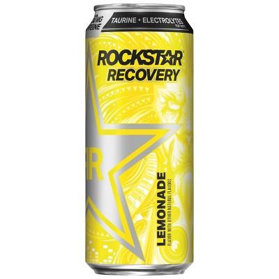 Rockstar Recovery Lemonade Energy Drink - 16 fl oz Can