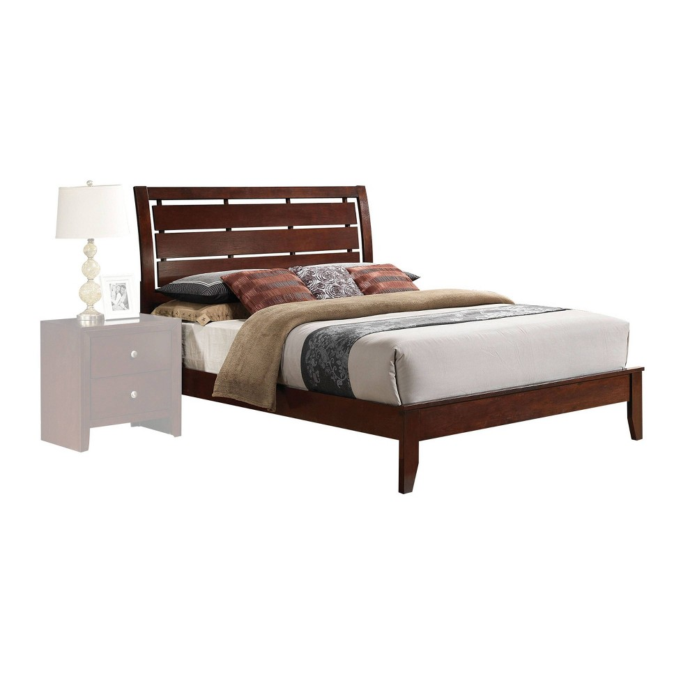 Eastern King Ilana Bed Brown Cherry - Acme