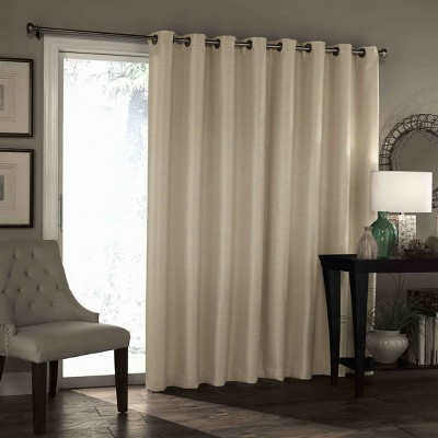 """84""""x100"""" Bryson Thermaweave Blackout Patio Door Panel - Eclipse"""