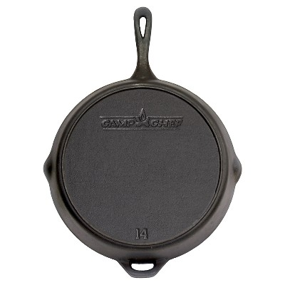 Camp Chef Cast Iron Skillet - 14 Inch