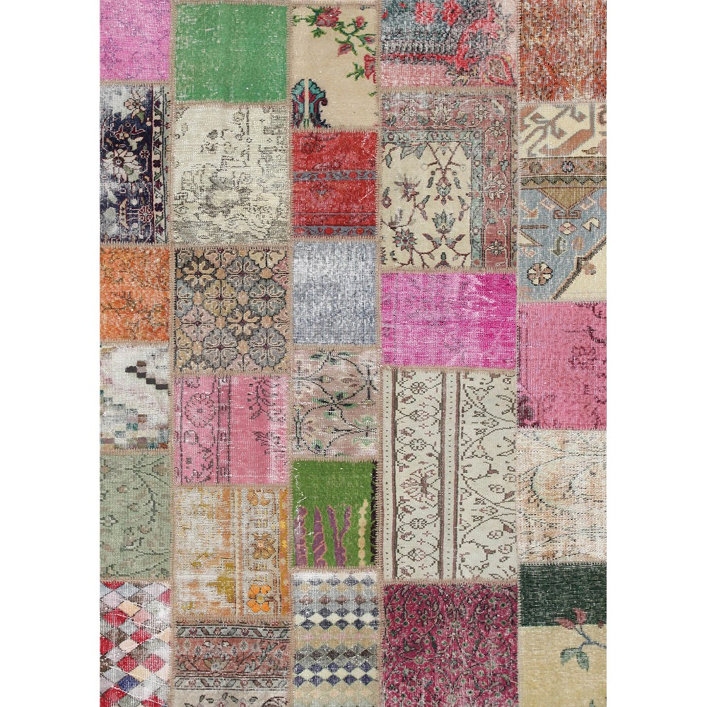Shapes Woven Area Rug 5'X7' - Ruggable, Multi-Colored