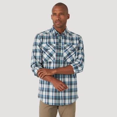 Wrangler Men's ATG David Woven Button-Down Shirt