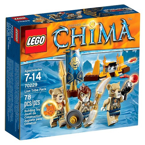 LEGO® Legends of Chima™ Lion Tribe Pack 70229 - image 1 of 7