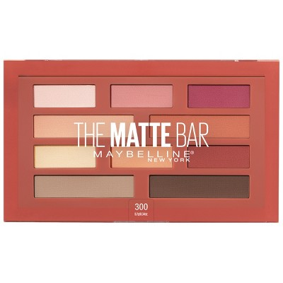 Maybelline The Matte Bar Eyeshadow Palette 300