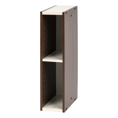 "IRIS 23"" Slim Storage Shelf - Walnut Brown - image 1 of 5"