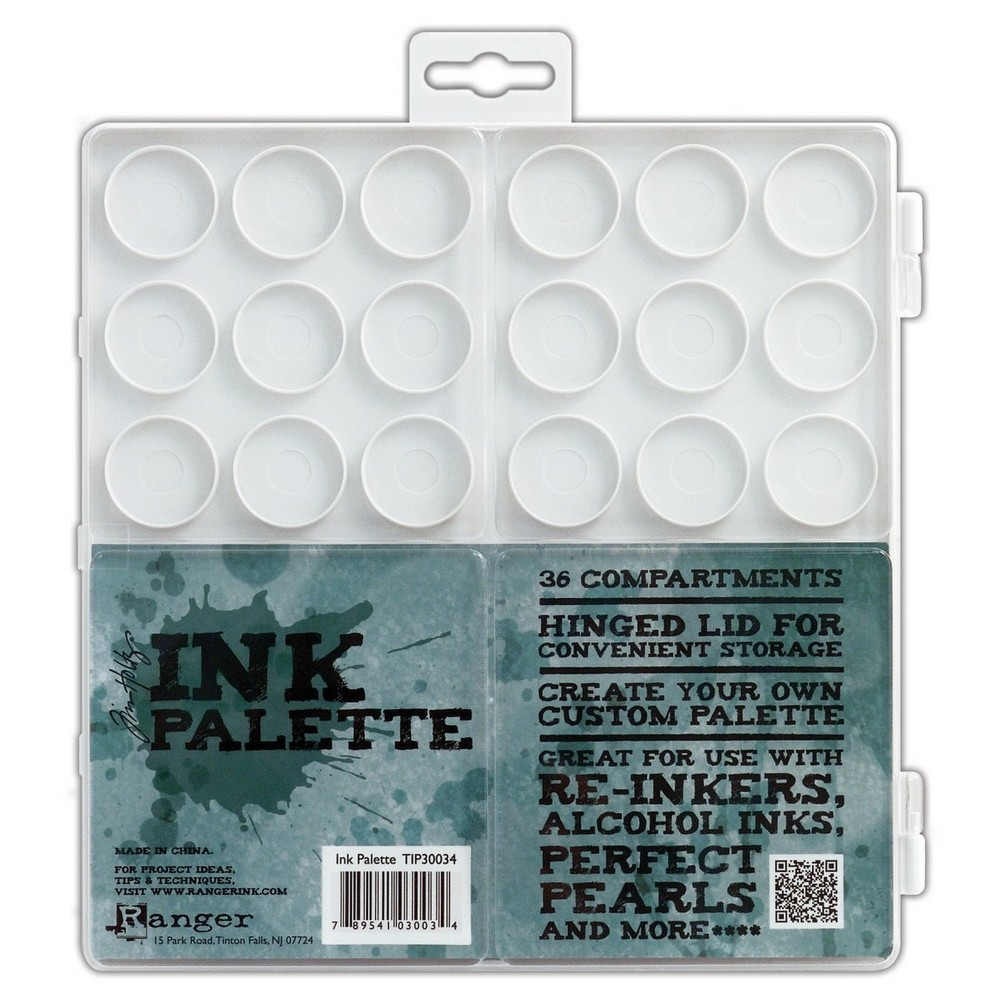 "Image of ""Tim Holtz Ink Palette-White 7.5""""X7.5"""""""