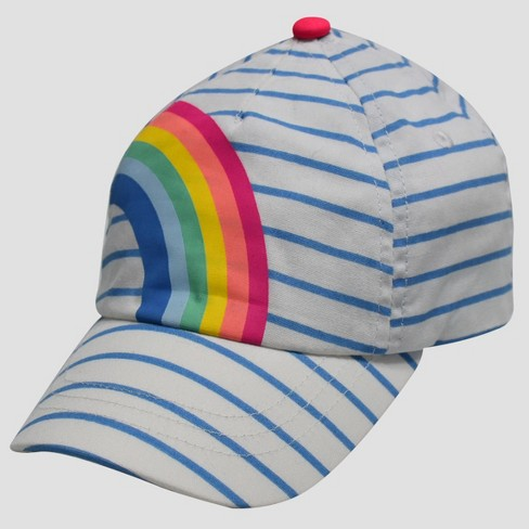 Toddler Girls  Rainbow Baseball Hat - Cat   Jack™ 2T-5T   Target 43c36c8ec
