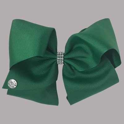 Girls' Nickelodeon JoJo Siwa Rhinestone Keeper Bow Hair Clip - Green