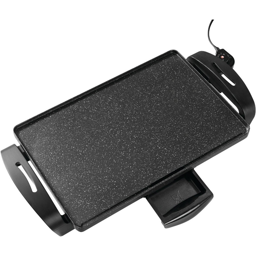 The Rock By Starfrit Electric Griddle Black
