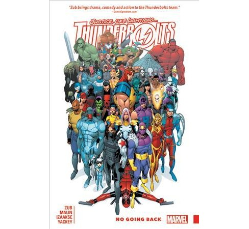 Thunderbolts 2 : No Going Back (Paperback) (Jim Zub) - image 1 of 1
