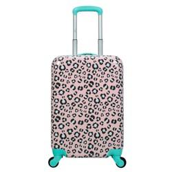 """Crckt 20"""" Kids' Hardside Carry On Spinner Suitcase - Animal Print"""