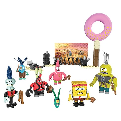 Mega Bloks SpongeBob SquarePants Post Apocalypse Figure Pack - image 1 of 7